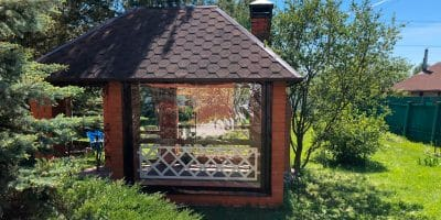 Мягкие окна для веранд в Коломне